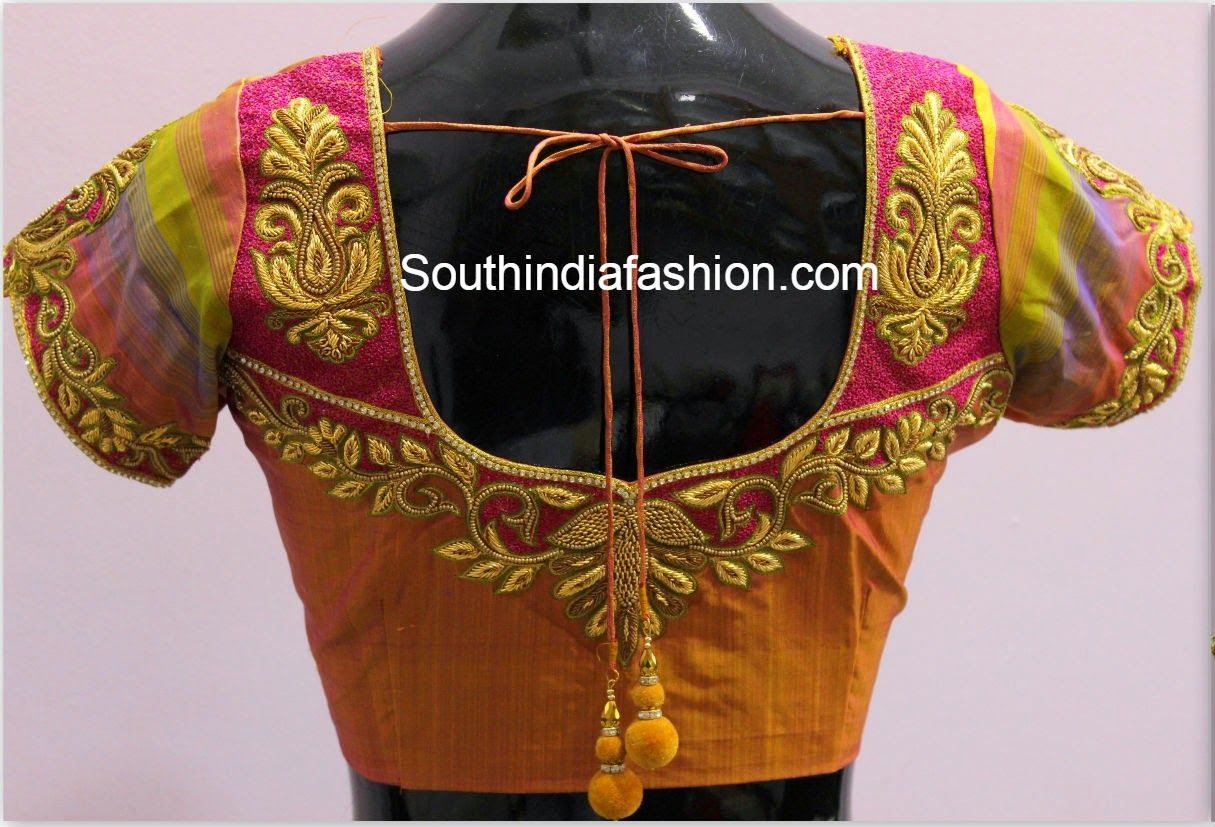 Silk saree blouse designs without embroidery blouse designs for silk sarees  blouse  pinterest  blouse designs