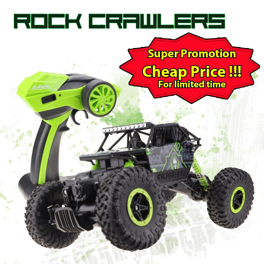 Grab Our Lynrc Rc Bigfoot 4wd Rock Crawlers Rally Off Road Car 2 4ghz On Sale At 49 99 And Free Shipping Wo Rock Crawler Offroad Vehicles Remote Control Cars