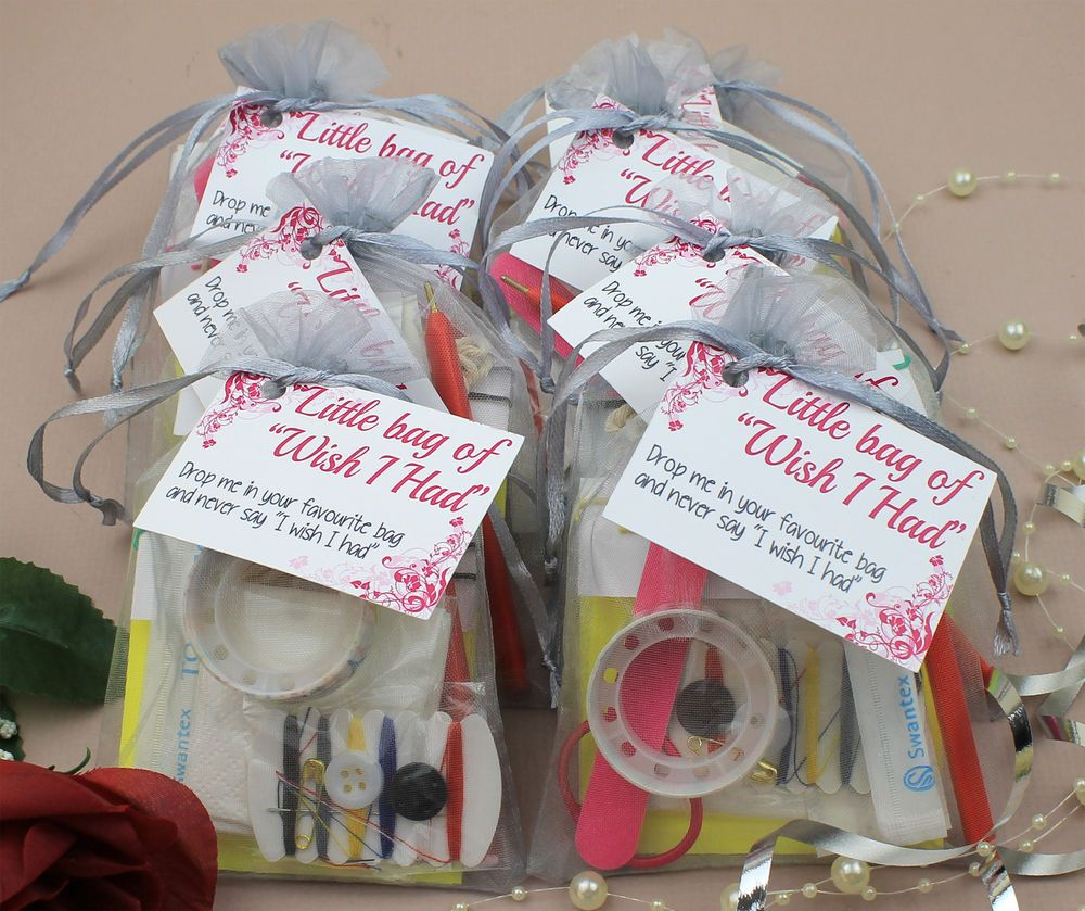 """Wedding Favour Bags Ideas: Little Bag Of """"Wish I Had"""""""