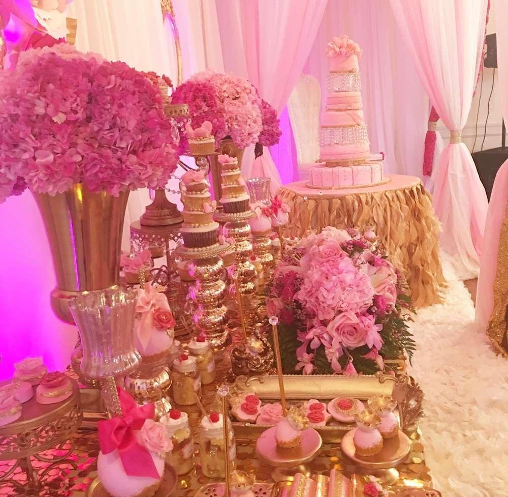 Sweet th birthday party ideas fushia pinterest