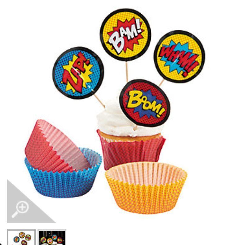 Great cupcake picks