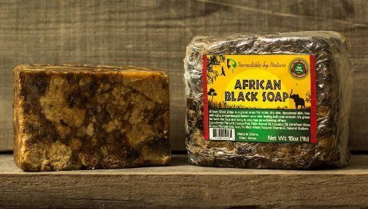 Top Quality African Black Soap - 1lb Raw Organic Soap For Acne, Dry Skin  #IncrediblebyNature