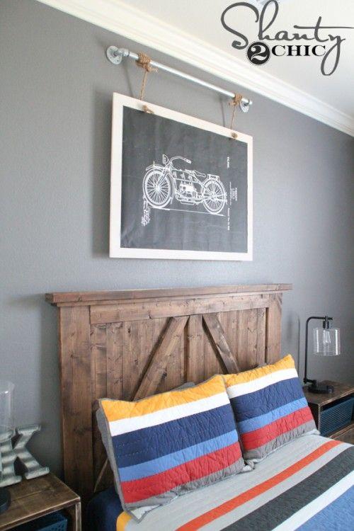 Diy Industrial Wall Art With Free Printable Cool Room Decor Diy