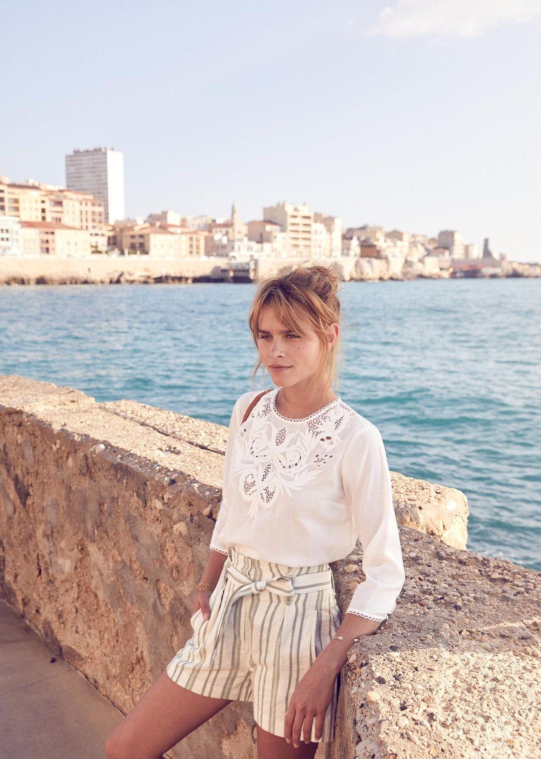 0593caa2e2c Vera blouse - Sézane