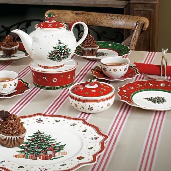 pin van woldring op woldring villeroy boch weihnachten porzellan en christmas deko. Black Bedroom Furniture Sets. Home Design Ideas