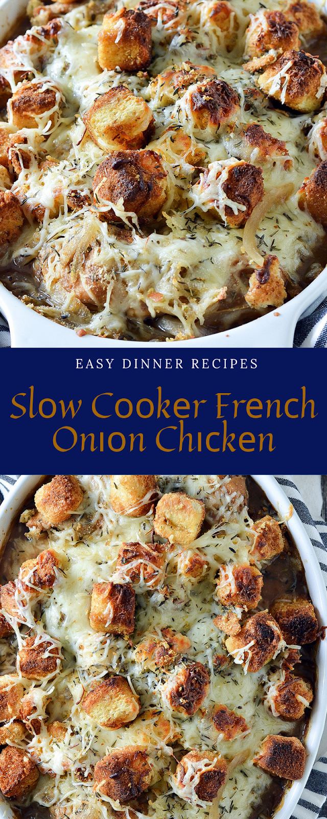 Easy Dinner Recipes | Slоw Cооkеr Frеnсh Onіоn Chісkеn | Easy dinner recipes, Food recipes, Baked chicken recipes, Chicken casserole recipes, Chicken breastrecipes, dinner recipes healthy, Easy dinner recipes, Healthy meals, Easy healthy dinner, #recipes,#dinnerforfamily, #dinnerfortwo, #delicious, #yummy, #slowcooker, #chickenrecipe, #frenchonionchicken, #chickenbreastrecipeseasy Easy Dinner Recipes | Slоw Cооkеr Frеnсh Onіоn Chісkеn | Easy dinner recipes, Food recipes, Ba #chickenbreastrecipeseasy