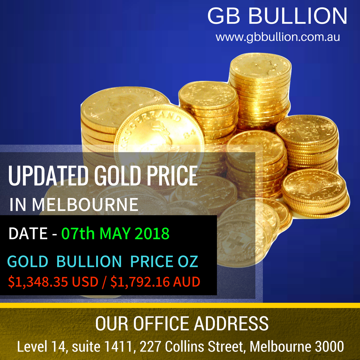 Find Today S Gold Price In Melbourne For An Ounce Of Oz Or