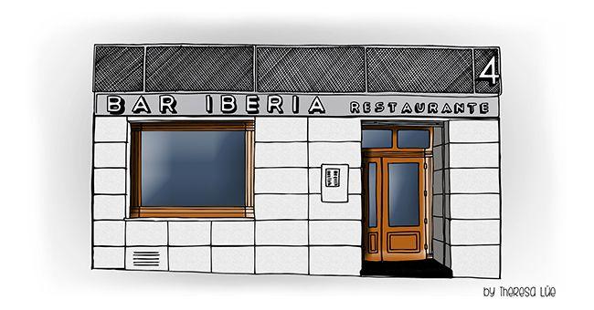 Mi PETiT BARRiO (nº16): EL iBERiA,  EL BAR DE LOS TAXiSTAS