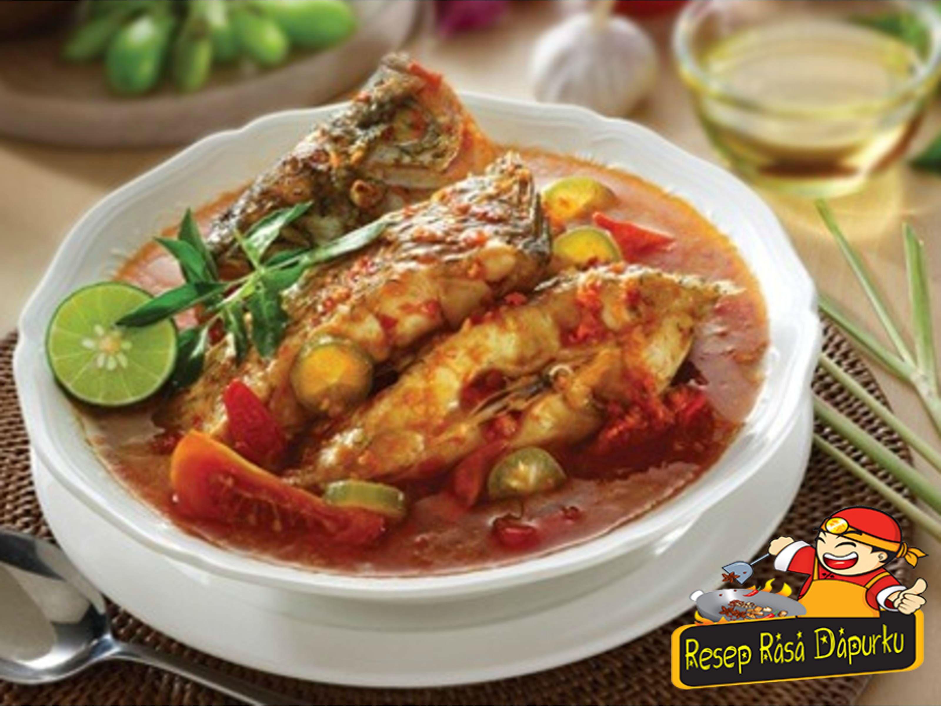 Resep Ikan Kembung Kukus Asam Gurih Food Chicken Wings Chicken