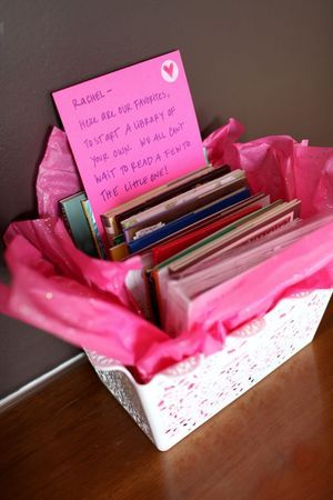 Great Baby Shower Hostess Gift. Each Hostess Buys Of Their Favorite  Childrenu0027s Books For The