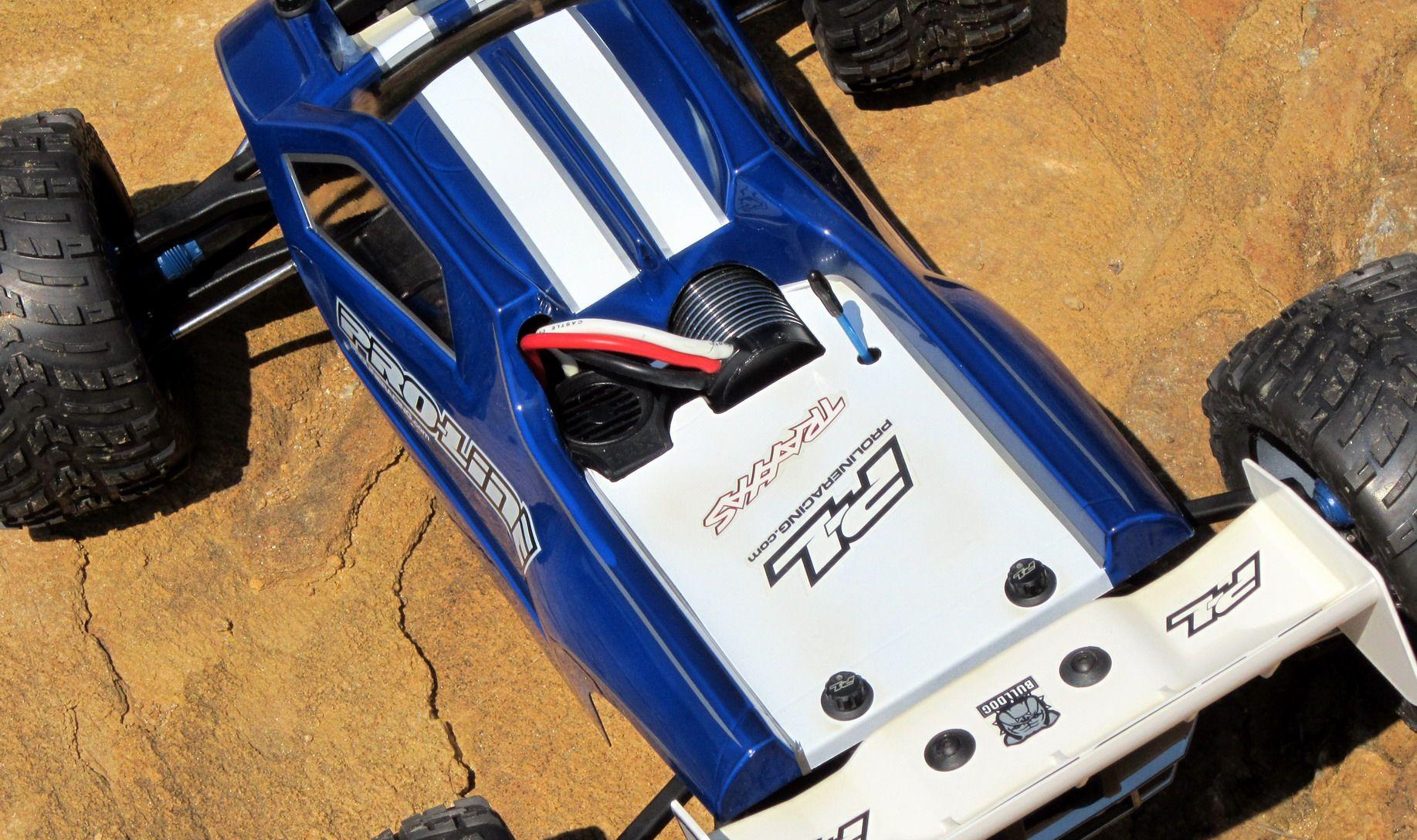 Pro Line Bulldog Truggy Conversion For Your Traxxas E Revo Brushless Pro Line Factory Team E Revo Traxxas Revo