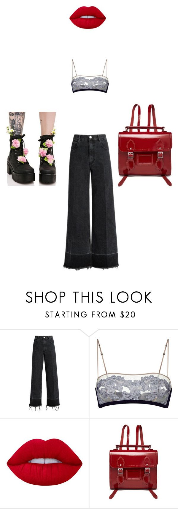 """""""nyfw"""" by strngrrr ❤ liked on Polyvore featuring Rachel Comey, Lime Crime, The Cambridge Satchel Company and Sugarbaby"""