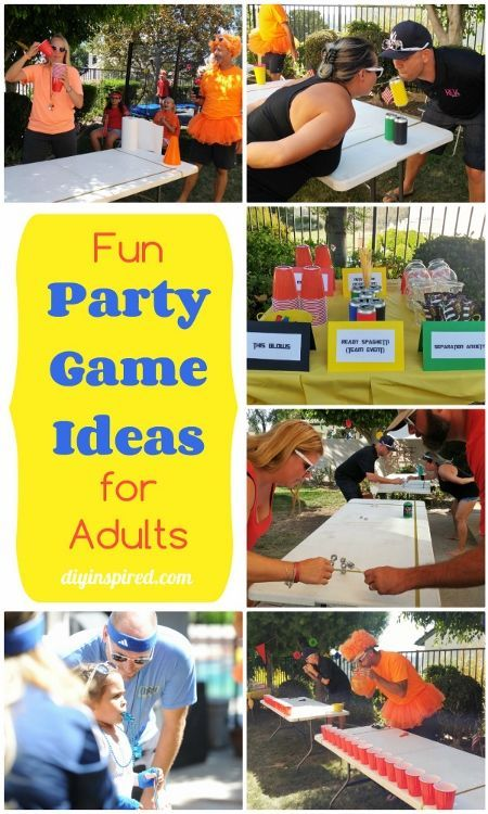Fun Party Games for Adults - DIY Inspired More