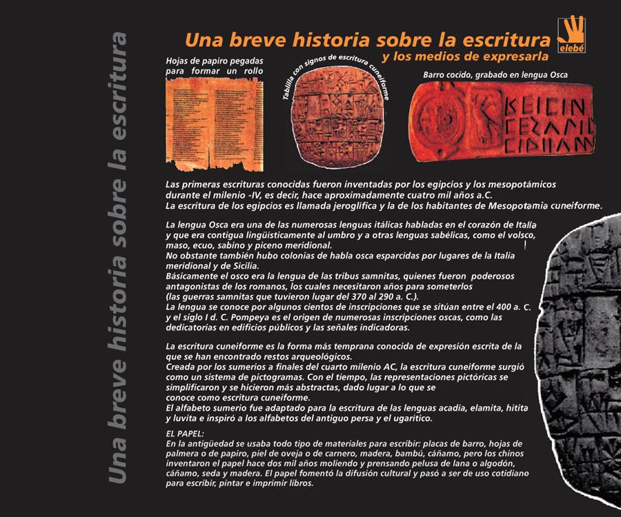 Breve Historia Escritura Png 900 750
