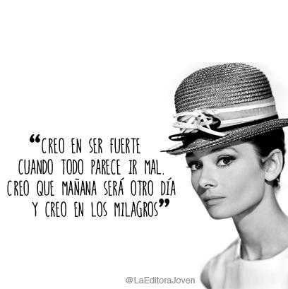 23 Frases De Audrey Hepburn Estas Son Las Mejores