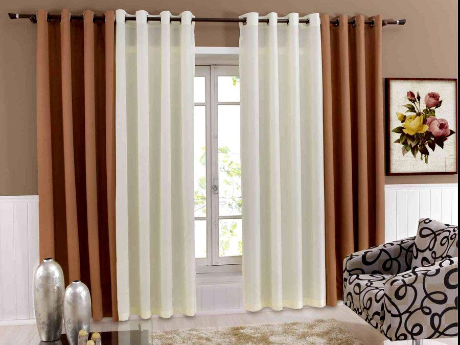 Imagenes de cortinas modernas para salas   Hogar   Cortinas ...