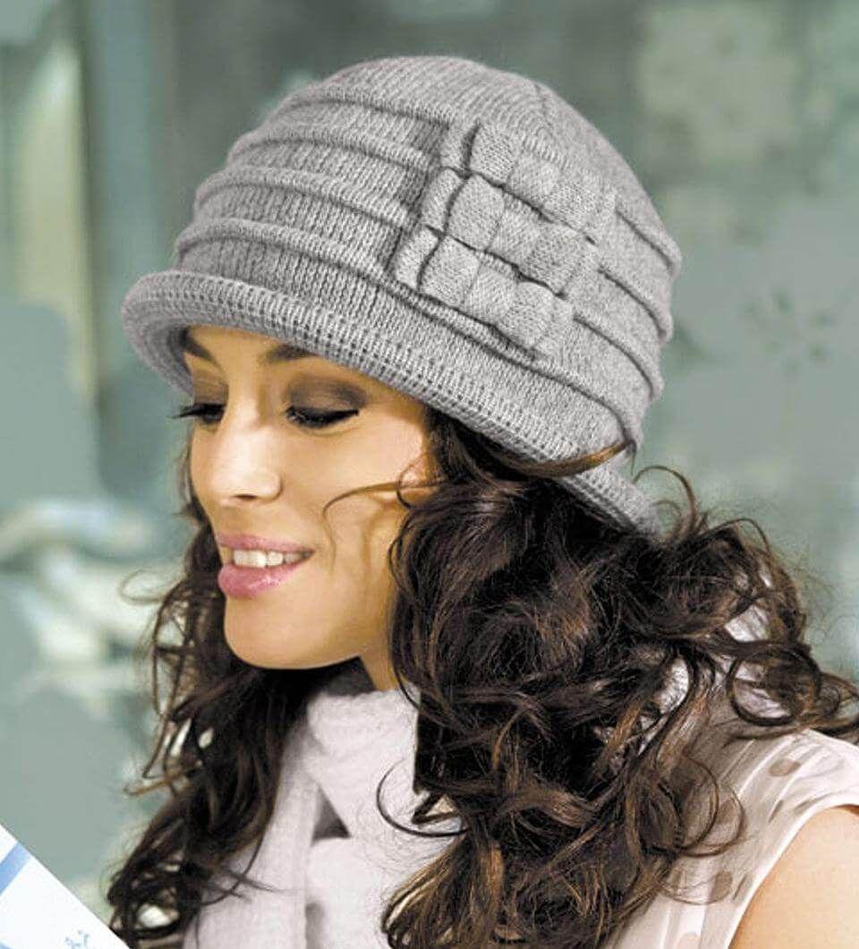 Вязание шапок эксклюзив фото
