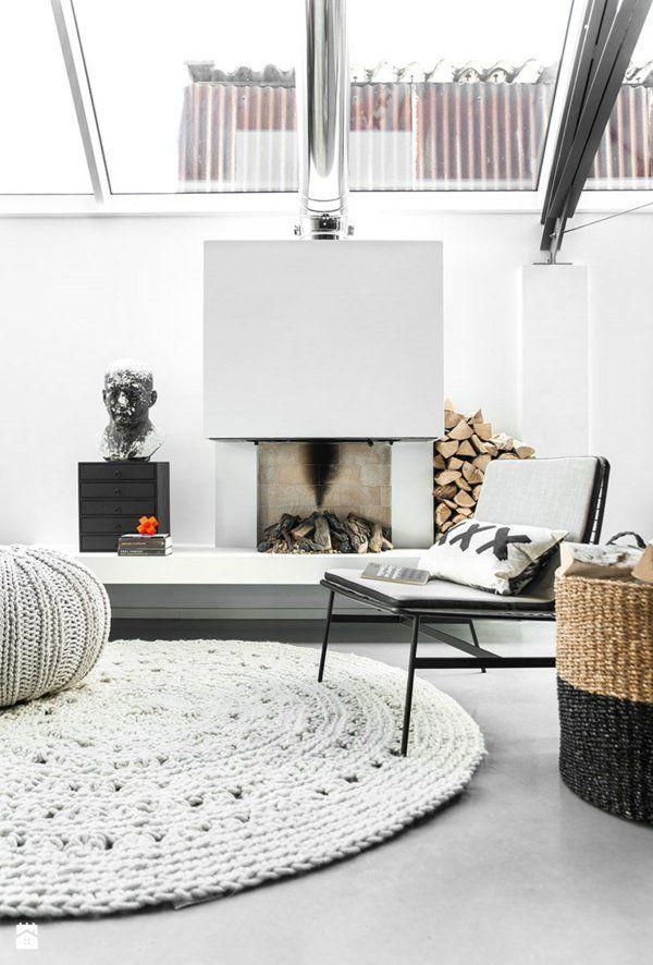 Tapis Blanc Pour Une Maison Harmonieuse Et élégante Déco Salon