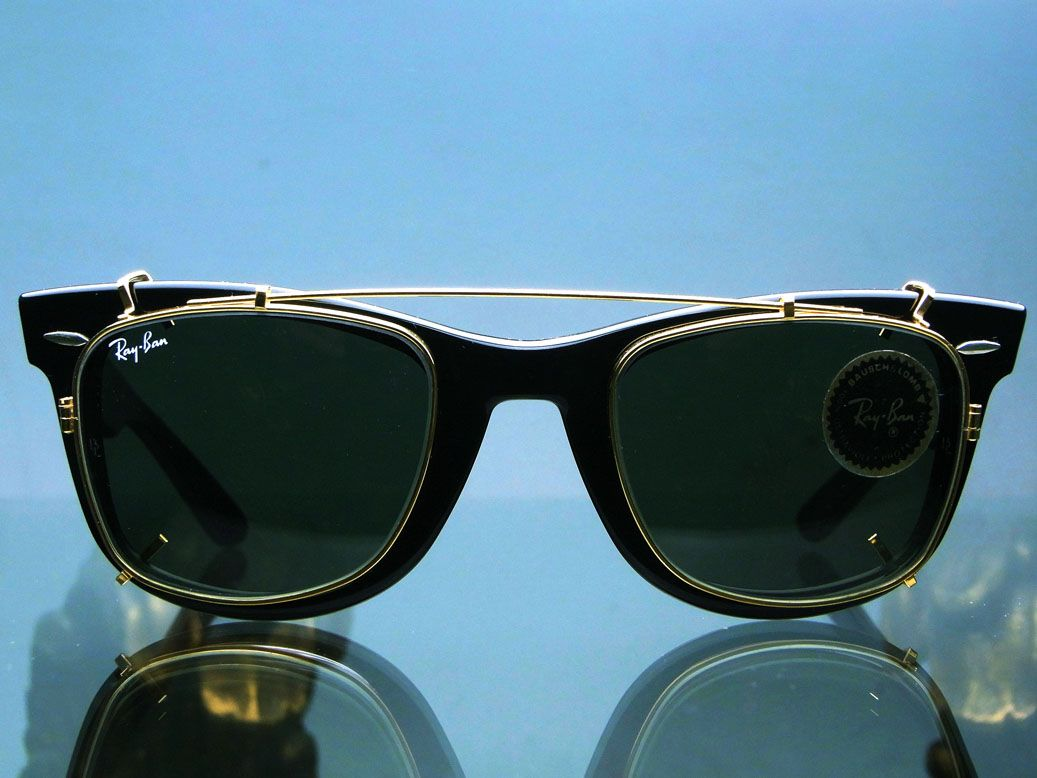 ray ban clip on sunglasses clubmaster  1000+ images about frames with clips on pinterest