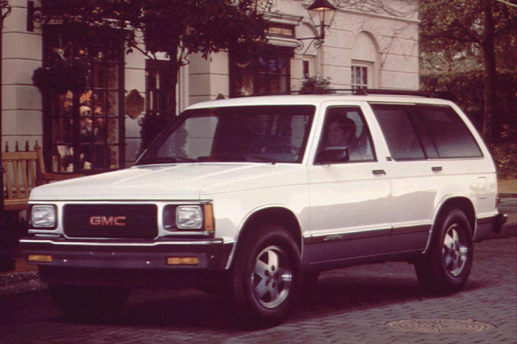 1990 94 Gmc Jimmy Consumer Guide Auto Gmc Auto Suv
