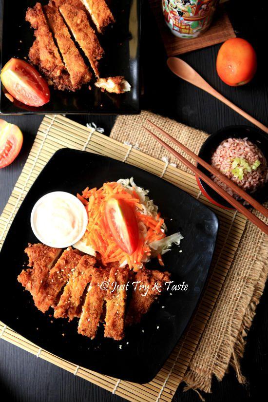 Resep Crispy Chicken Katsu Ide Makanan Makanan Cina Makanan