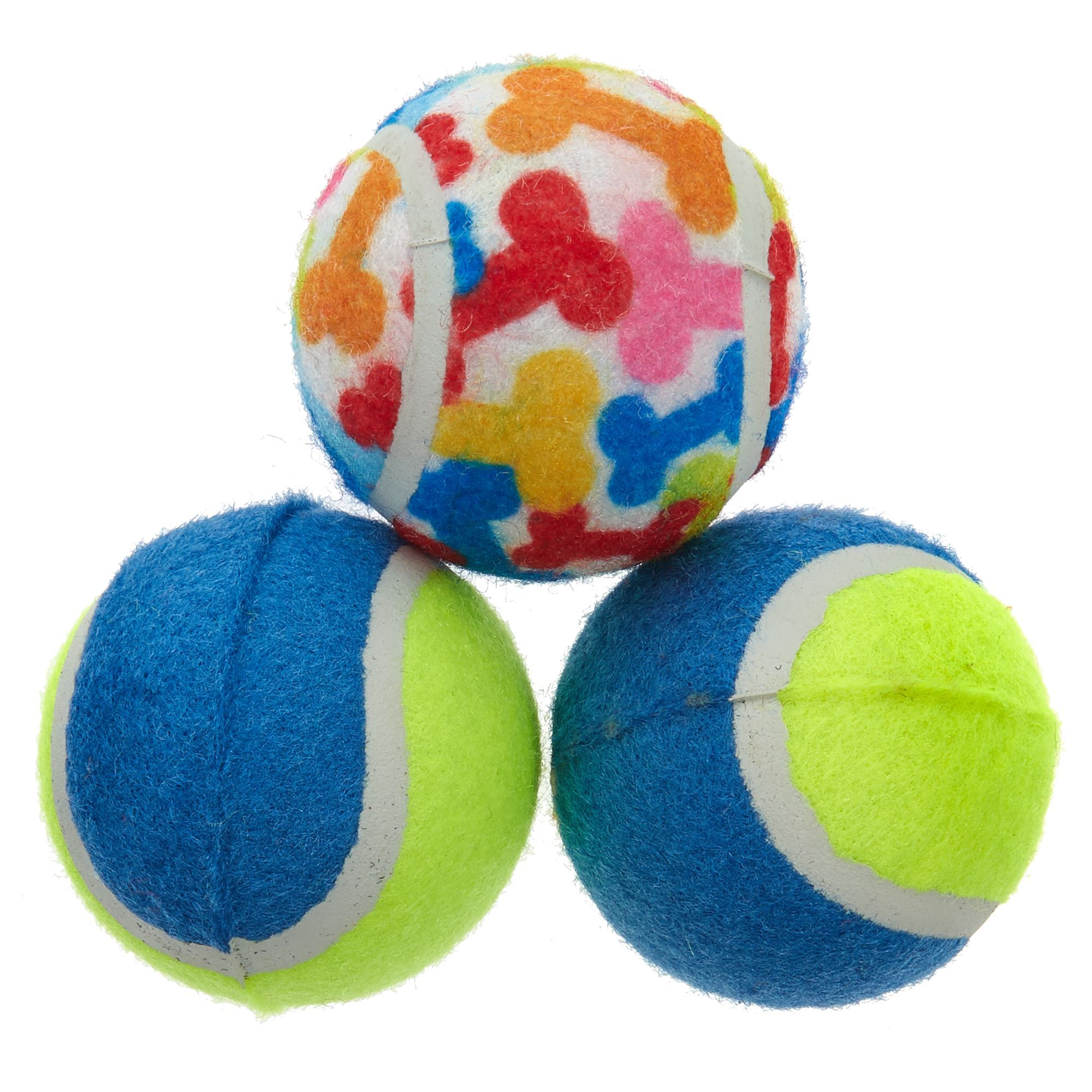 Toys R Us Pets Tennis Balls Dog Toys 3 Pack Size 2 5 In Toys R