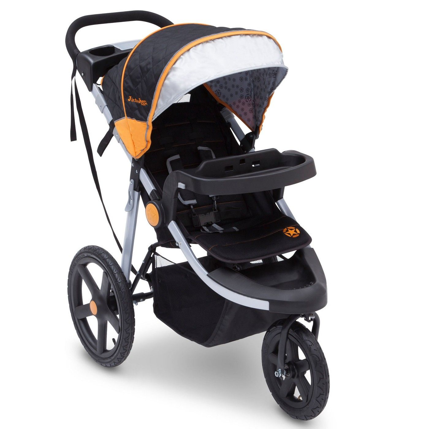 J Is For Jeep Brand Adventure All Terrain Jogger Stroller Image