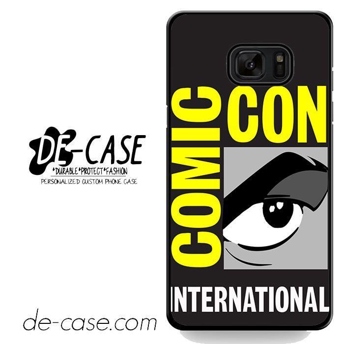 Comic Con Logo DEAL-2808 Samsung Phonecase Cover For Samsung Galaxy Note 7
