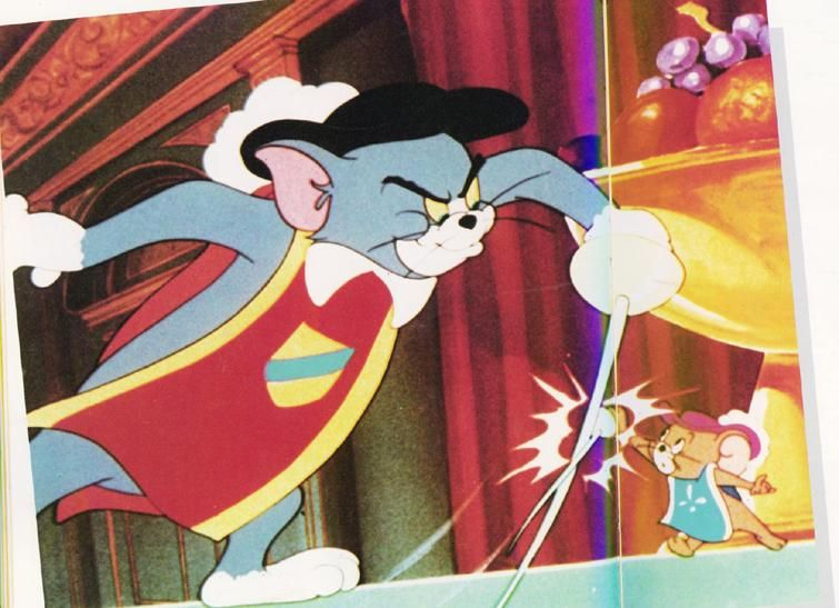 Tom And Jerry Sword Fight Cartoon Art Styles Tom And Jerry