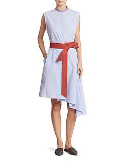 Blue cotton dress Brunello Cucinelli zIzZKRi