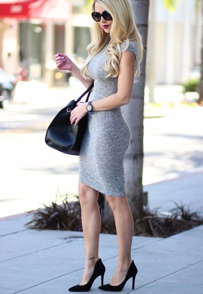 Grey Bodycon Dress Outfit Ideas Pinterest Dresses Bodycon