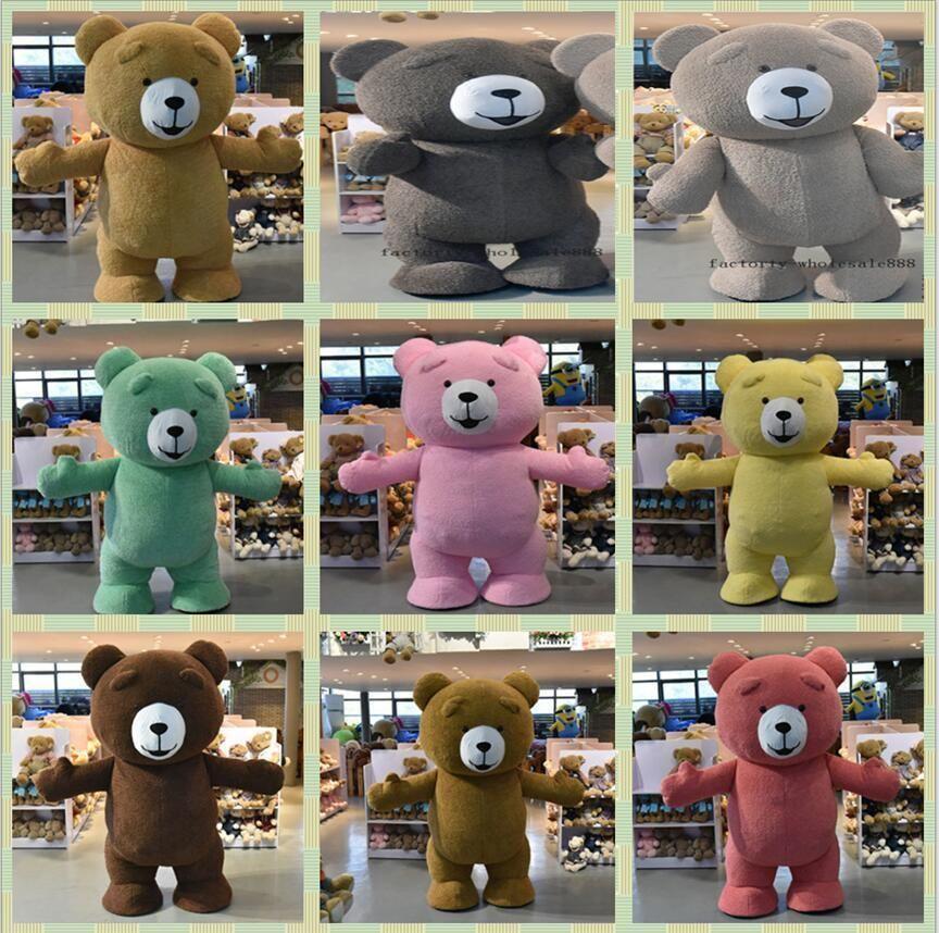 13b18f57abd Inflatable Teddy Bear Plush Mascot Costume 2018 Halloween Party Game Fandy  Dress (eBay Link)