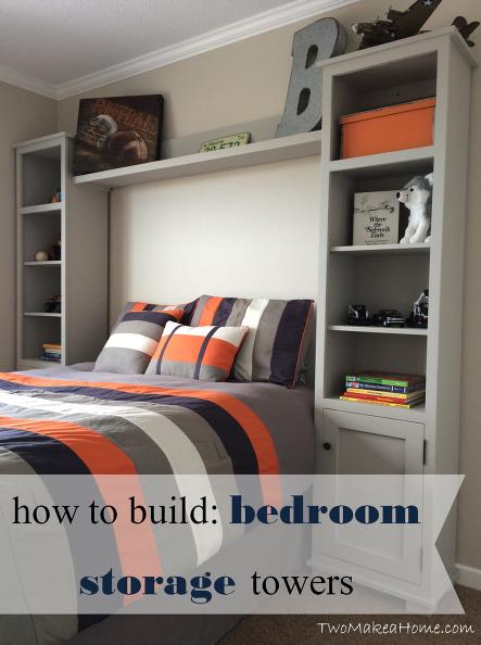 How To Build Bedroom Storage Towers Remodel Bedroom Boys Bedrooms Bedroom