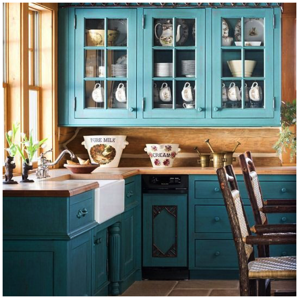 6 Creative Ways to Include Teal in Your Kitchen | Kitchen ...