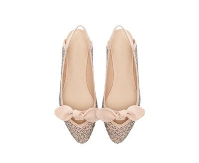 glitter ballerina skor