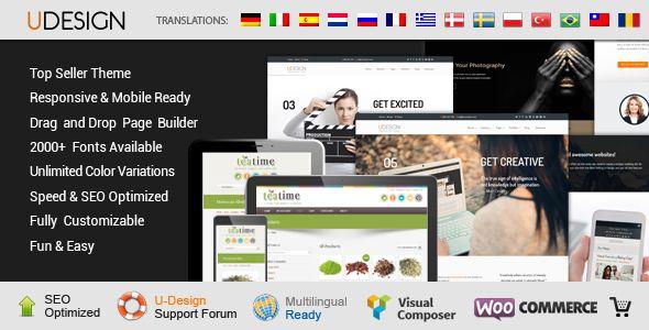 U-Design Tema WordPress para Pequeño Negocio | Anunciable.com ...