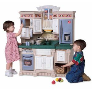 Play Kitchens For Sale Alder Cabinets Kitchen 159 99 From Step2 Too Small As Well Pinterest Pretend Cool Toys Kids