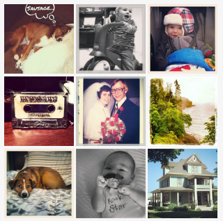 I just turned my Instagrams into magnets with #StickyGram! Get $2 off your order with FRIENDT8BL (Yeah, I totally got sucked in. but now my fridge will be covered in cuteness!!!)