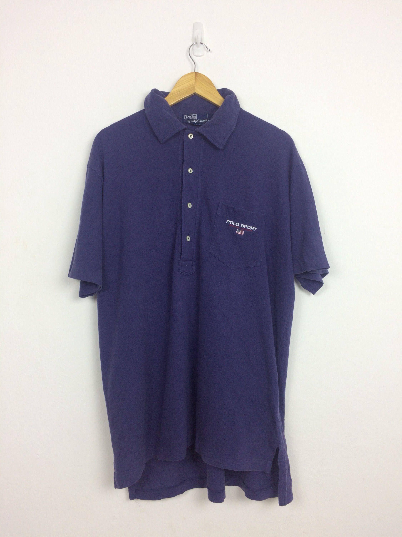 9eb33b9958605 Vintage 90s Polo Sport Ralph Lauren Polo Shirt Size L | Vintage ...
