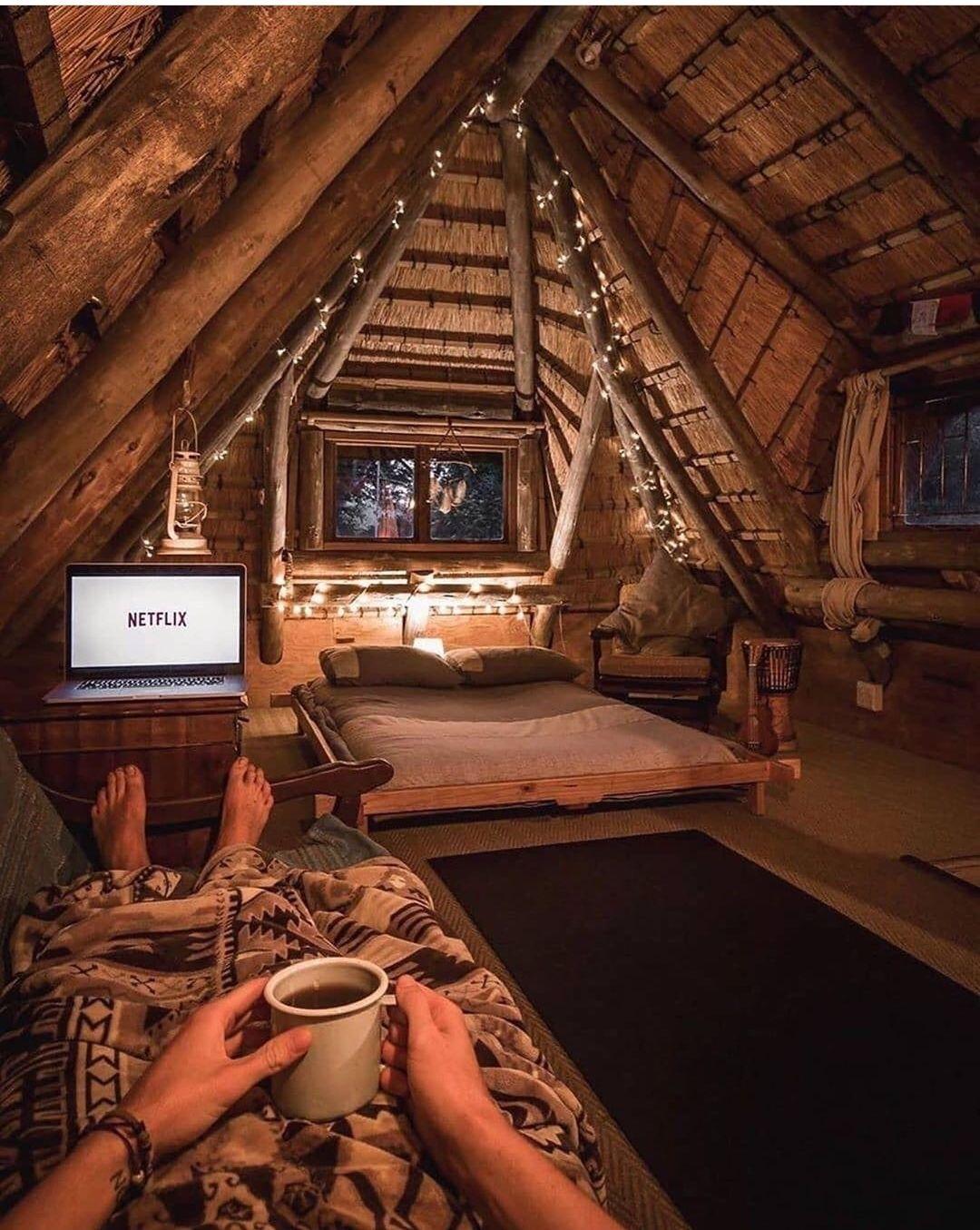 Tree house Netflix session   Wohne im tiny house, Haus ...
