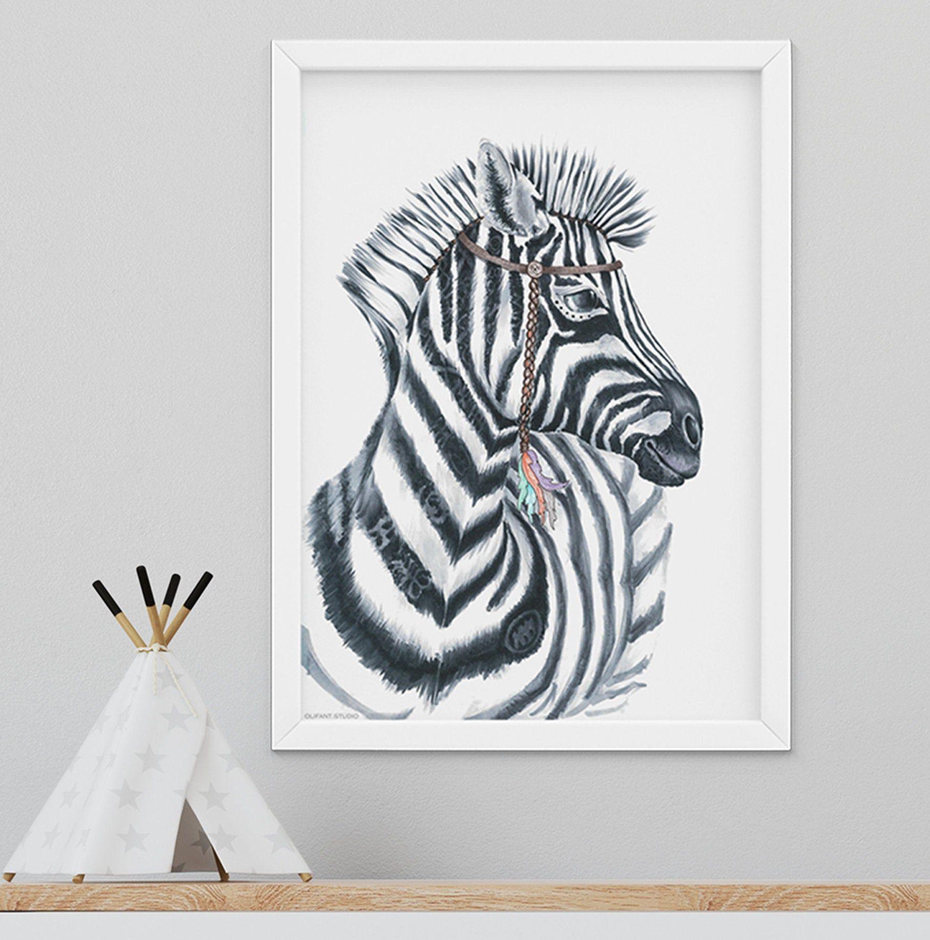 Zebra Print Safari Wall Decor Africa Animals Poster Zebra Etsy In 2020 Zebra Wall Art Animal Posters Safari Nursery Prints