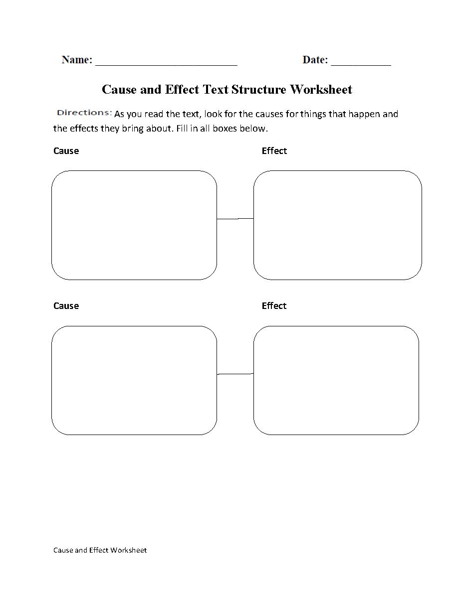 Englishlinx Com Text Structure Worksheets Text Structure Worksheets Text Structure Cause And Effect [ 1188 x 910 Pixel ]
