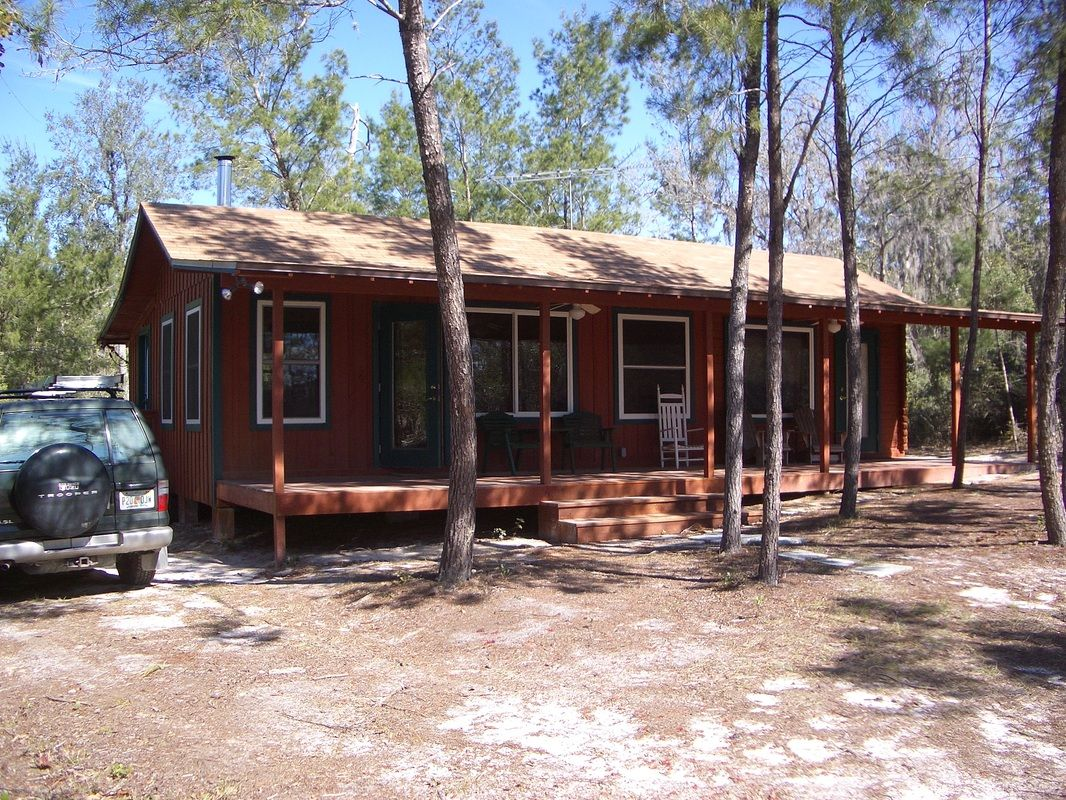 Exceptionnel Rustic Orlando Cabin Rental Front View