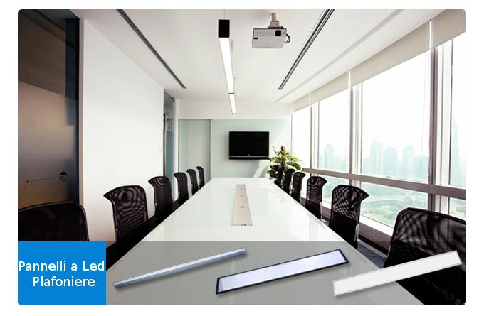 Illuminazione a led per uffici pannelli a led soluzioni di