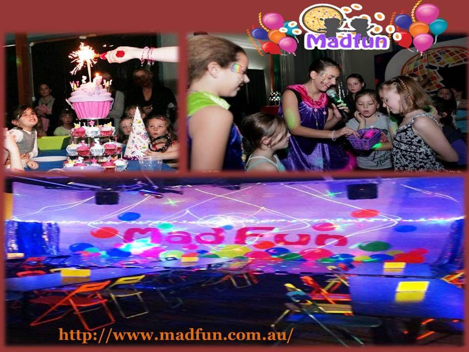 Pin by Madfun Australia on Madfun Kids Disco Birthday