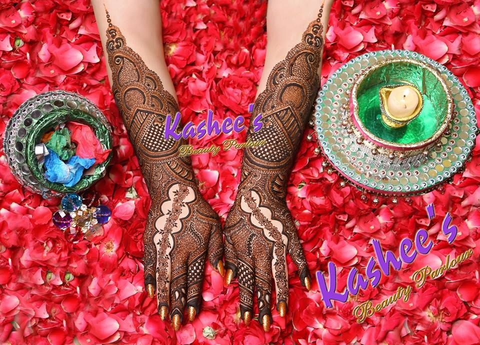 Mehndi Henna Designs S : Beautiful awesome bridal mehndi design by kashee 's beauty parlour
