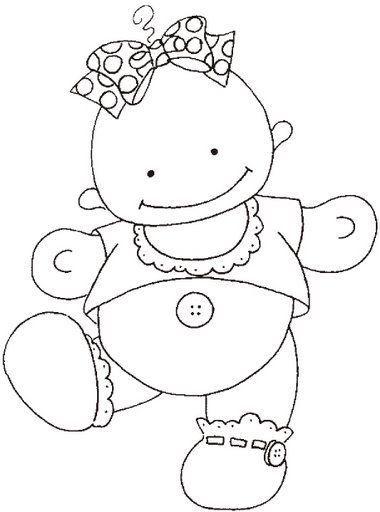 Baby Girl Infantil Pinterest Bebe Moldes Y Imprimir Sobres