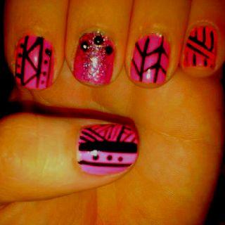 Pink tribal :)