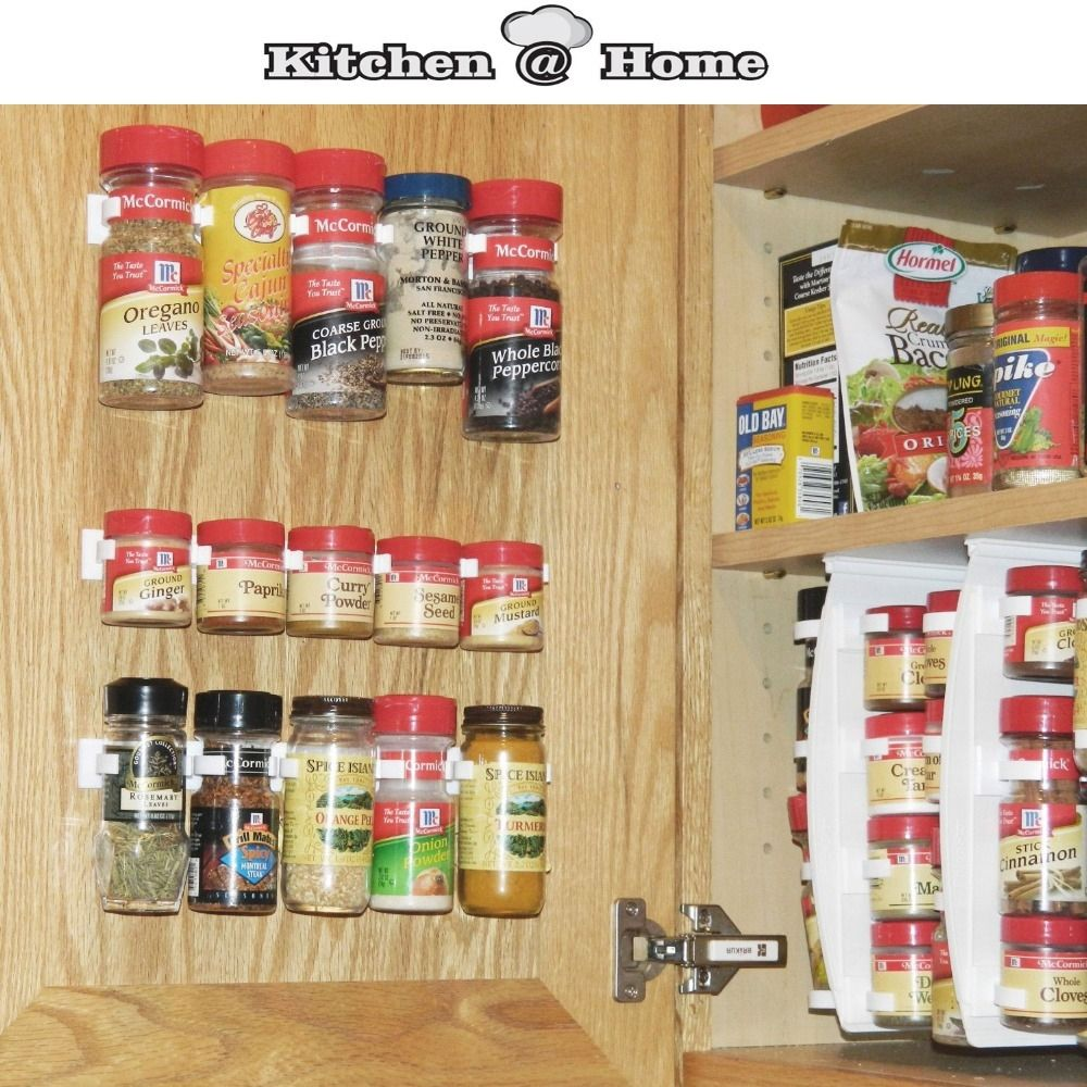 Plastic Spice Racks For Kitchen Cabinets Wall Spice Rack Spice Rack Organiser Cabinet Door Spice Rack