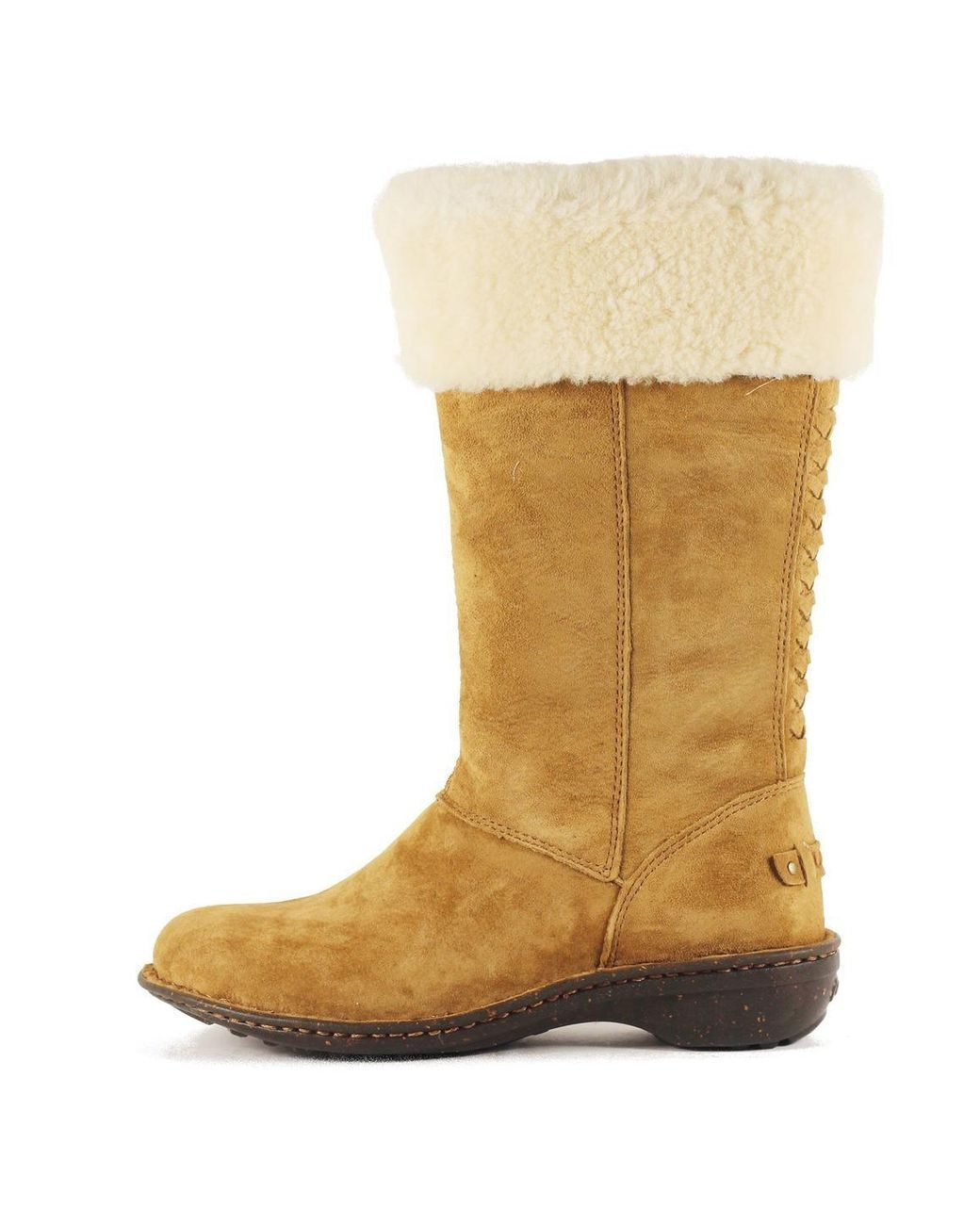 722a42d21a4e Buy Ugg Women's Brown Karyn Chestnut Cuff Sheepskin Boot. Similar products  also available. SALE now on!
